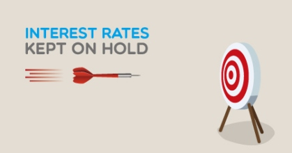 Interest rates on hold