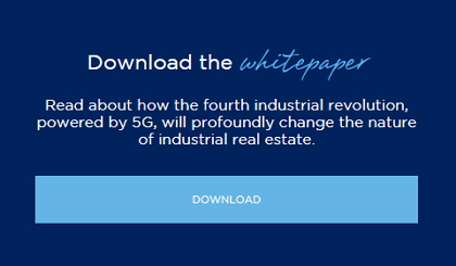 Read about how the fourth industrial revolution, powered by 5G, will profoundly change the nature of industrial real estate.